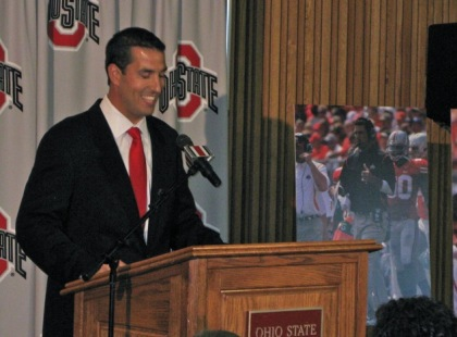 Fickell was all smiles when he was introduced as OSU head coach in 2011.